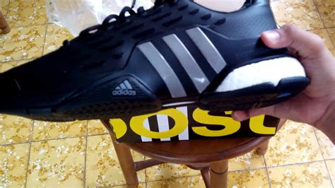 Sepatu Adidas Boost Import Black sepatu tenis adidas barricade 2016 boost black af6794 unboxing