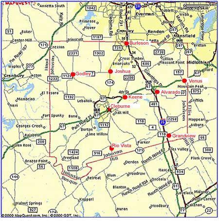map of johnson county texas johnson county economic development