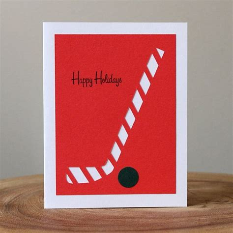 make a hockey card 1000 ideas about birthday card for on