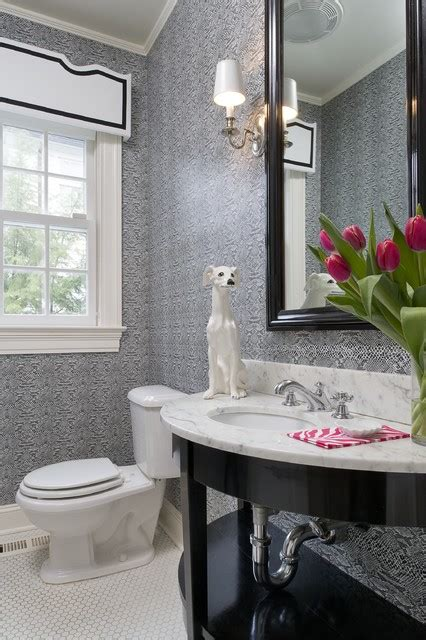 ct residence modern powder room new york by susan greenwich residence contemporary powder room new