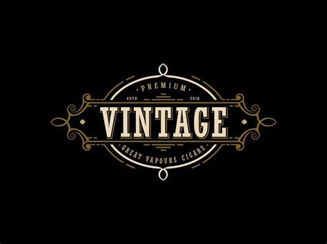 design a retro logo vintage logo design cigars logo design vapor cigarettes