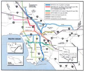 La Metro System Map by The Cosmopolitan Observer The Birth The Death And The