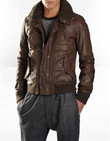 Leather Jacket D G Jacket S Fashion