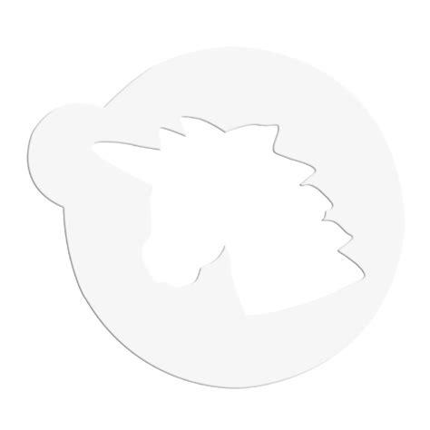 dekor schablonen einhornkopf st 228 dter - Dekor Schablone