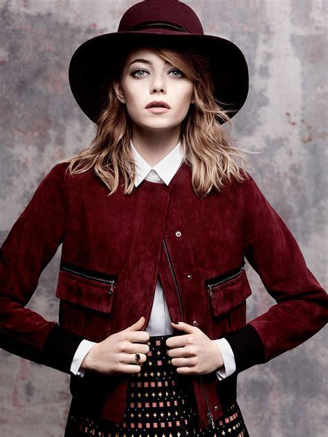Emma Stone Vogue | emma stone vogue magazine photoshoot by craig mcdean