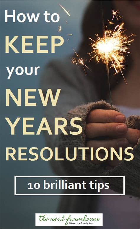 Way Better Than New Years Resolutions 2 by 10 Brilliant Ways To Actually Keep Your New Years