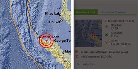 Lu Sorot Kepala bnpb sejumlah rumah dan bangunan roboh akibat gempa aceh