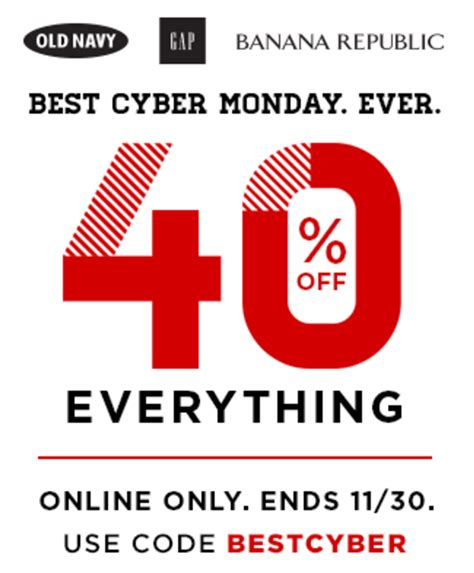 old navy coupons cyber monday cyber monday old navy coupon code 40 off good on