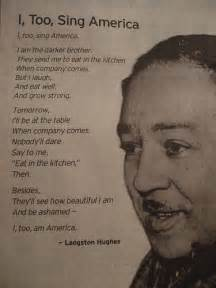 I Sing America Analysis Essay by Langston Hughes 171 Professions For Peace