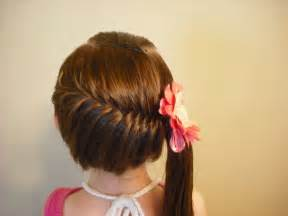 perisian hair styles side swept french fish braid hairstyle youtube