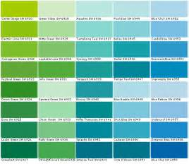 teal color chart sherwin williams paint sherwin williams colors