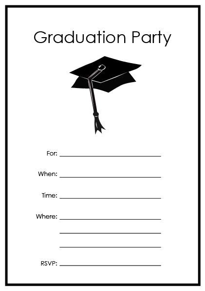 graduation cards free templates free printable graduation templates printable