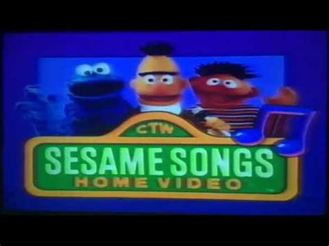 sesame songs home sing yourself silly part 1