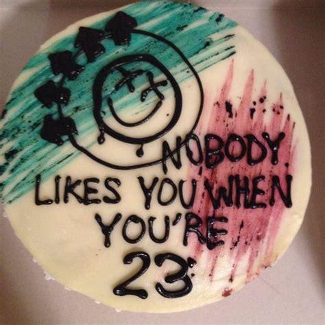 Blink 182 Birthday Card 25 Best Ideas About 23rd Birthday On Pinterest 23