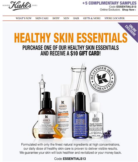 Kiehl S Gift Card - kiehl s canada coupons get 10 gift card plus 5 free sles canadian freebies