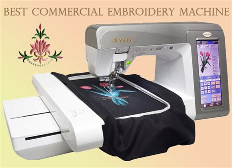 Best Commercial Embroidery Machine   A Very Cozy Home