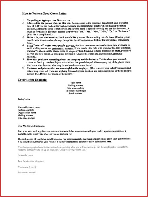 Effective Resume Cover Letter by Lovely Exles Of Letters Resume Pdf