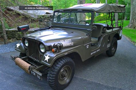 jeep m170 1955 willys m170 frontline ambulance jeep