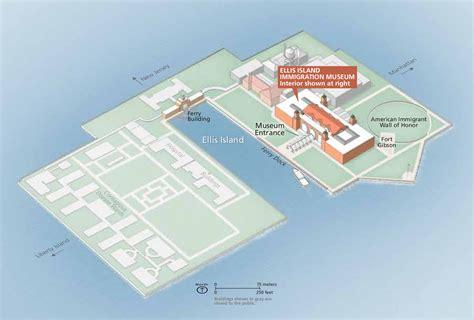 Ellis Park Floor Plan statue of liberty and ellis island maps npmaps com