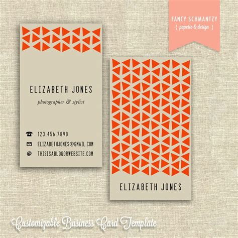 Etsy Cards Templates by Business Card Template Etsy Charlesbutler
