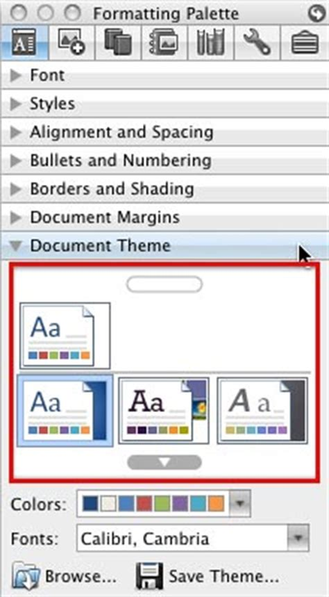 themes in excel for mac applying themes in powerpoint word and excel 2008 for