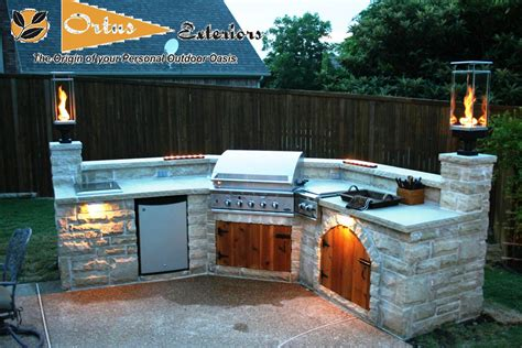 Outdoor Kitchen Lighting Ideas Exterior Interesting Outdoor Lighting Decoration Design Ideas With Outdoor Patio Lighting