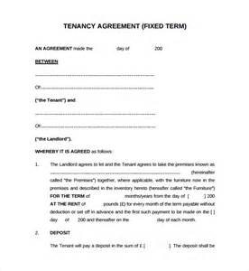 tenancy contract template doc 830535 sle tenancy agreement doc tenancy