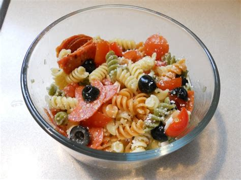 cold pasta salad with italian dressing cold italian pasta salad food pinterest
