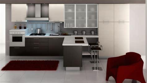 günstige einbauküchen l form wohnzimmer design schwarz wei 223