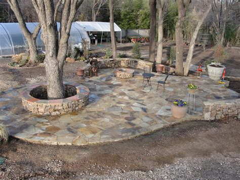backyard stone ideas paver patio designs with fire pits bed mattress sale