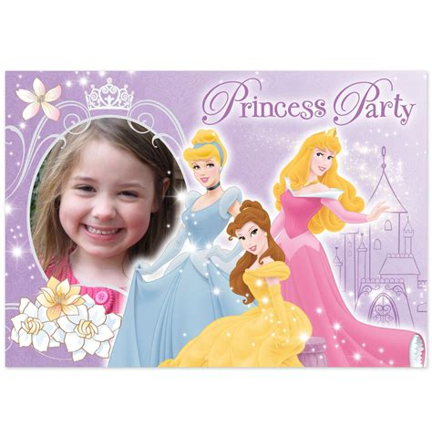 Free Disney Birthday Card Template by Disney Princess Birthday Invitations Cimvitation
