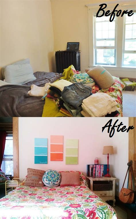 before and after decor the lovely side before after shots decorating my bedroom