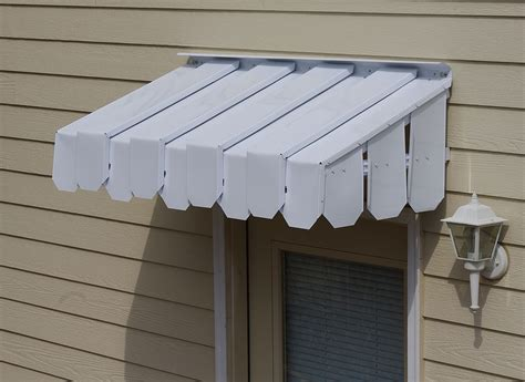Awning For Doors brookside door awning with flat side panels