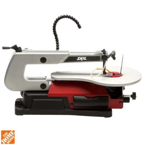 skil 1 2 16 in scroll saw with light 3335 07 the