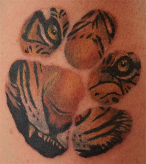 tiger paw tattoo designs tiger tattoos designs ideas and meaning tattoos for you