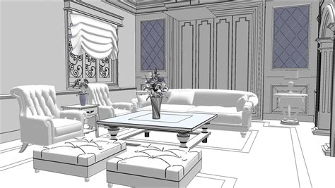 How To 3d Model A Room