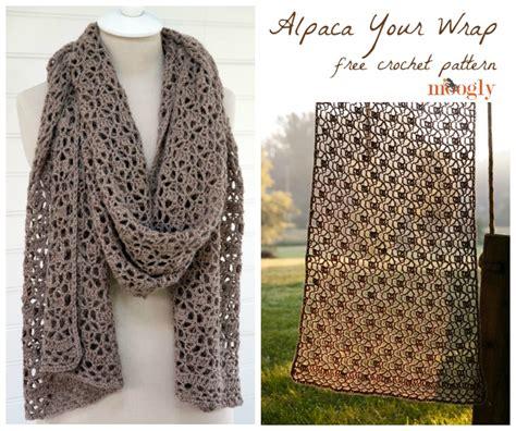 Drape Wrap Around Sweater Alpaca Your Wrap Free Crochet Pattern On Moogly