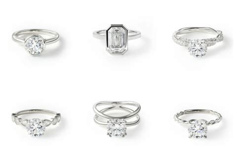 engagement ring band styles engagement ring styles 5 types of engagement rings