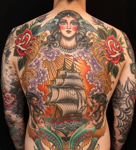 tattoo back traditional 6 traditional full back tattoos