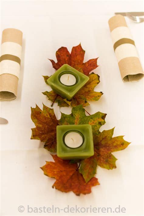 Tisch Herbstdeko by Herbstliche Tischdekoration F 252 R Den Geburtstag Basteln