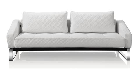 modern white leather ottoman modern white leather sleeper sofa small modern white