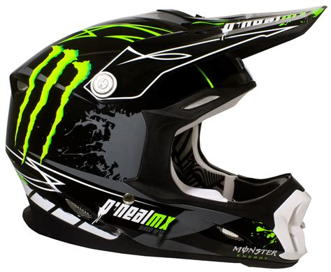 Motocross Helm by O Neal Helm 712 Black Green 2014 Maciag Offroad