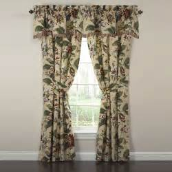 Waverly Kitchen Curtains Waverly Laurel Springs 50 Quot Curtain Valance Reviews Wayfair