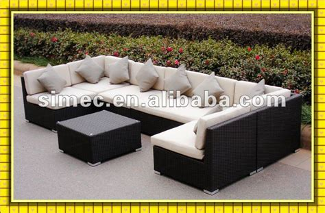 Low Price Patio Furniture by Factory Sale Popular Style Low Cost Outdoor Wicker