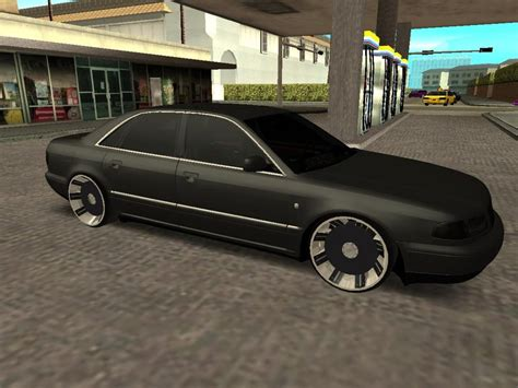 Audi S8 D2 by Gta San Andreas Audi A8 S8 D2 Lowstance Mod Gtainside