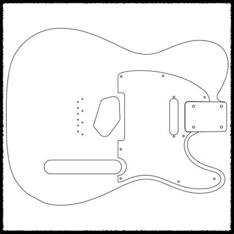 telecaster guitar template telecaster guitar routing templates faction guitars