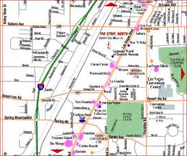 Las Vegas Street Map by Map Of Las Vegas City Pictures
