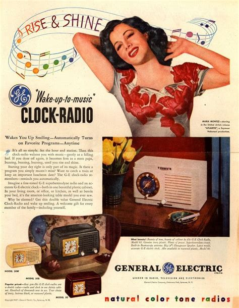 vintage tv commercials from the 1940s 50s 7 ads 92 best images about 1950 s radio colors from ads on