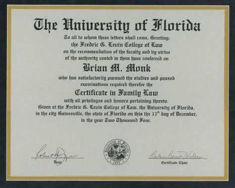 Uf Time Mba Business Major by Lawyer Brian Monk Lakeland Fl Attorney Avvo