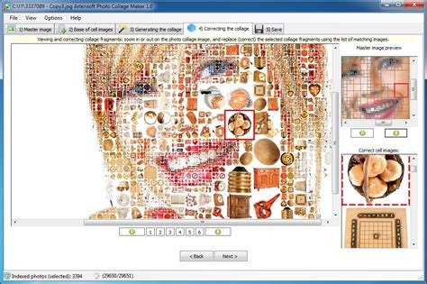 free online collage maker artensoft photo collage maker screenshots
